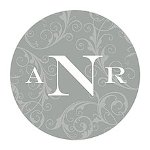 Filigree Monogram Sticker