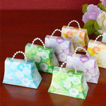 Floral Mini Purses Favor Kit Assorted Colors - Box of 50
