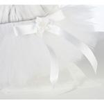 Flower Dog Skirt- White