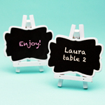 Mini Chalkboard Place Cards