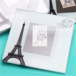 From Paris with Love Coaster Favor
