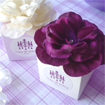 Her Personalized Flower Top Favor Box