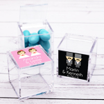 His or Hers Personalized Acrylic Favor Box