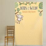 Born To Be Wild Personalized Monkey on Vine Photo Backdrop
