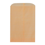 Kraft Paper Flat Pocket Goodie Bag - Set of 25
