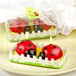 Ladybug Candle Favor