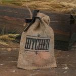 Hitched Burlap Favor Bag - 25 pcs
