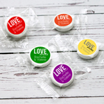 Love Wins Personalized Life Saver Candies