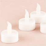 Luminary Battery Operated LED Tealights - 6 pcs