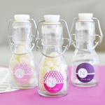 MOD Pattern Monogram Mini Glass Bottles