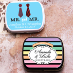 Mr. or Mrs. Personalized Mint Tins