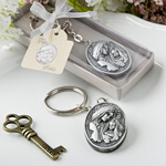 Madonna and Child Themed Key Chain