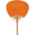 Mango Orange Paper Paddle Fan