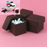 Mix-and-Match Mocha Favor Boxes