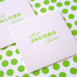 Monogram Square Coasters
