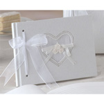 Natural Paper Small Guest Book