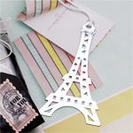 """Paris with Love"" Eiffel Tower Bookmark Favor"