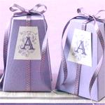 Pedestal Favor Box Kit - 20 pcs