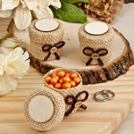 Perfect Plain Collection Burlap Boxes