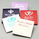 Personalized 30 Strike Matchbook Favors - 50 pcs
