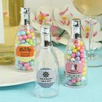 Personalized Champagne Bottle Plastic Box