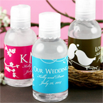 Personalized Hand Sanitizer Favor