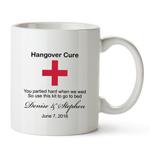 Personalized Hangover White Coffee Mug