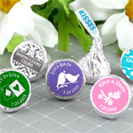 Personalized Hershey�s Kisses - Silhouette