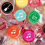 Personalized Musical Silhouette Life Saver Candies
