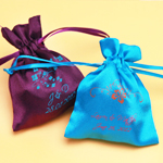 Personalized Satin Favor Bags