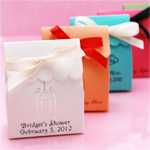 Personalized Scalloped Favor Bags