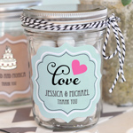 Personalized Theme Mini Mason Jars