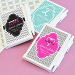 Personalized Theme Notebook Favors