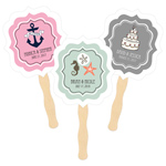 Personalized Theme Paddle Fans