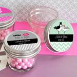 Personalized Theme Small 4 oz Mason Jars