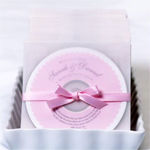 Personalized Wedding CD Labels - 10 pcs