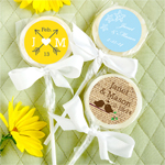 Personalized Themed Lollipop Favor