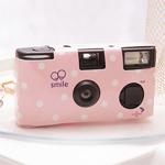 Pink Polka Dot Disposable Camera