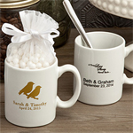 Personalized Espresso Cups Favor