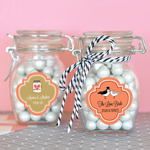 Small Personalized Theme Glass Jar