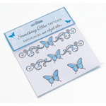 Something Blue Temporary Tattoos
