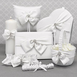 Sparkling Sash Collection - Heart Guest Book