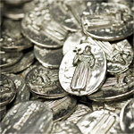 St. Francis of Assisi Tokens - 50 pcs