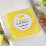 """""""Sweet Bee-ginnings"""" Scented Soap"""
