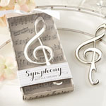 """Symphony"" Chrome Music Note Bottle Opener"
