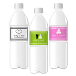 Theme Water Bottle Labels