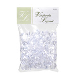 Plastic Ice Decoration - Clear - 8 oz bag