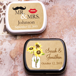 Vintage Kraft Personalized Mint Tins
