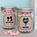 Vintage Wedding Mini Mason Jars