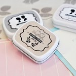 Vintage Wedding Personalized Mint Tins